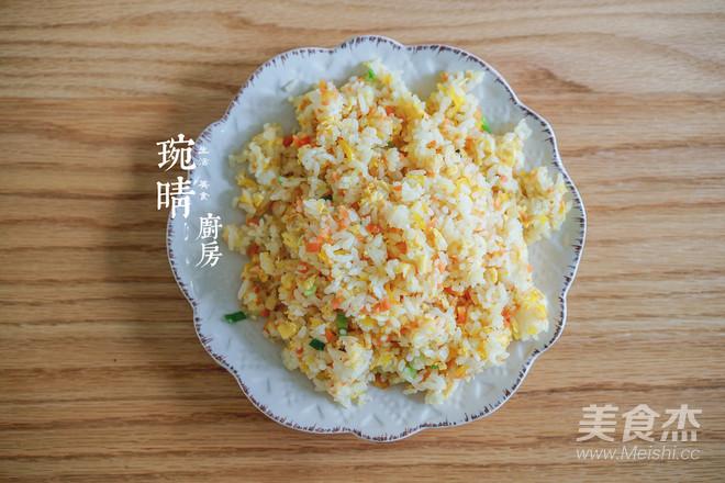 粽子炒饭团的步骤
