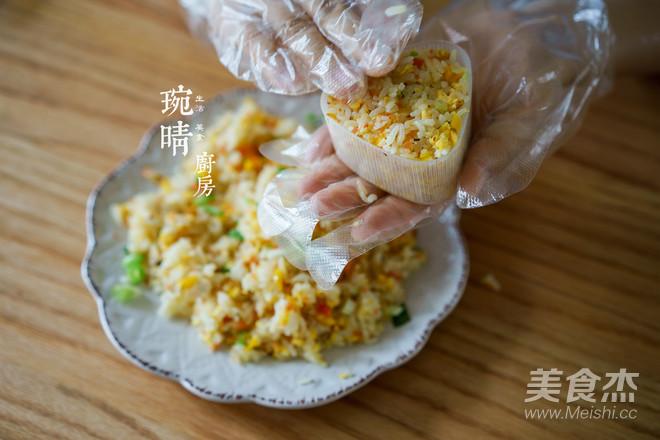 粽子炒饭团的家常做法