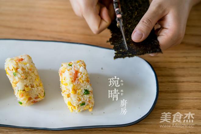 粽子炒饭团的简单做法