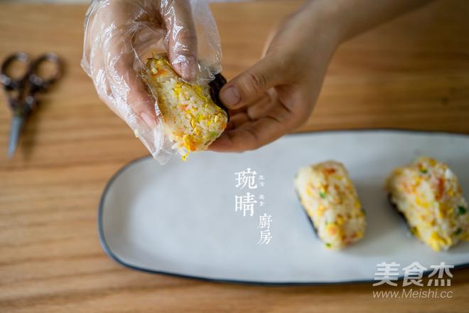 粽子炒饭团怎么吃