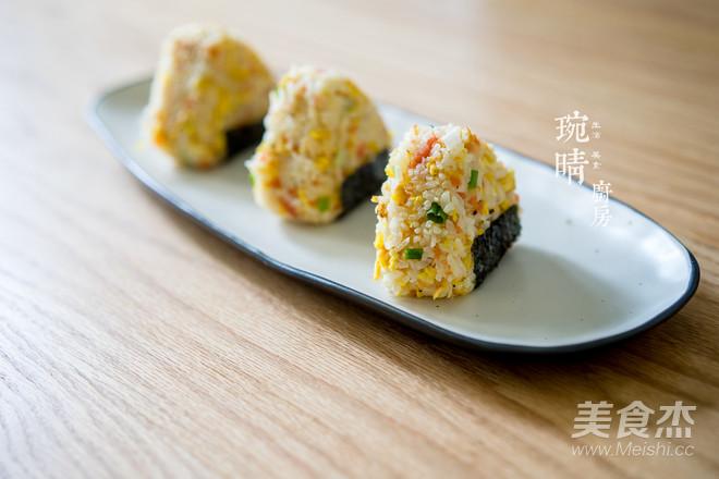 粽子炒饭团怎么做