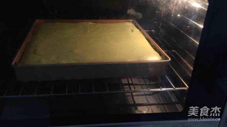 抹茶水果蛋糕怎么煮
