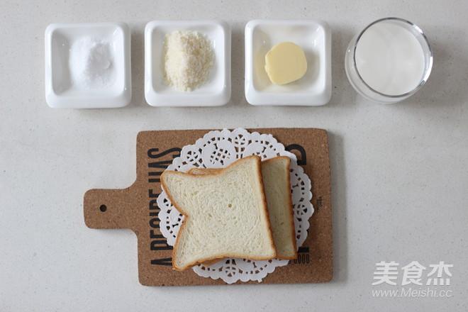 早餐系列之酥脆椰蓉吐司条的做法大全
