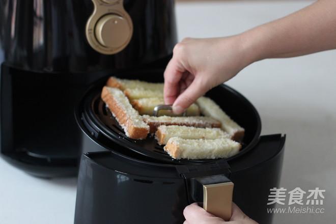 早餐系列之酥脆椰蓉吐司条怎么做