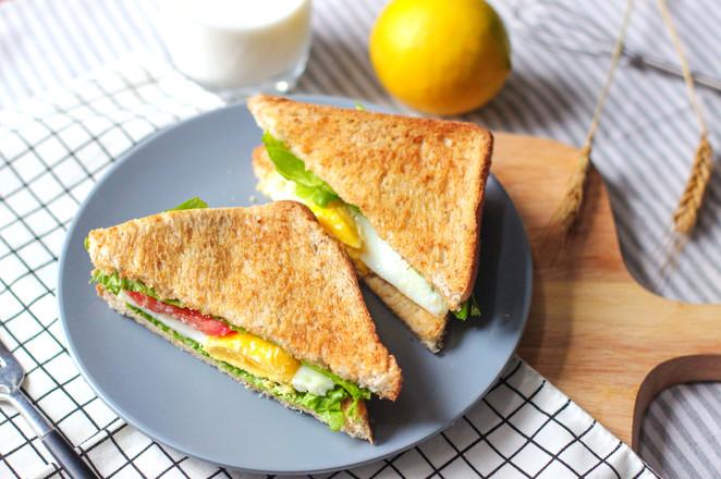 田园三明治怎么煮