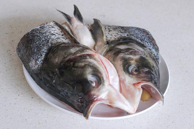 家常菜-双椒鱼头的做法图解