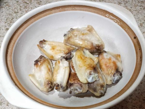 蒜子啤酒焖鸡中翅的做法图解