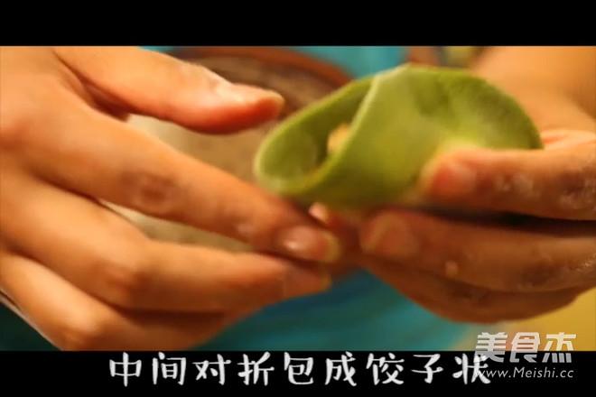 双色蔬菜水饺怎么吃