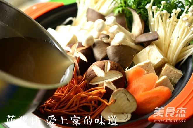 蘑菇火锅怎么做