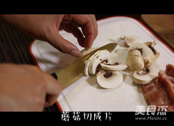 奶油蘑菇意面的做法图解