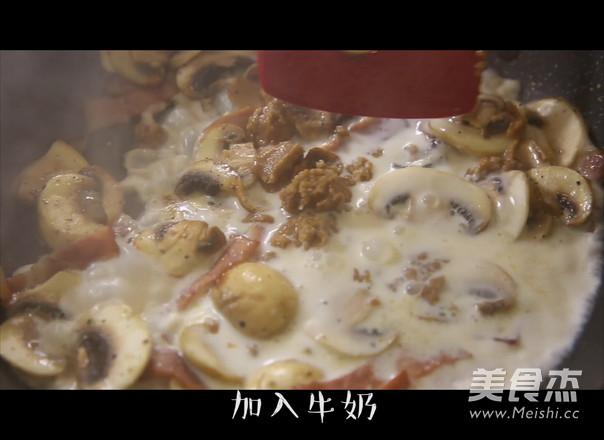 奶油蘑菇意面的简单做法
