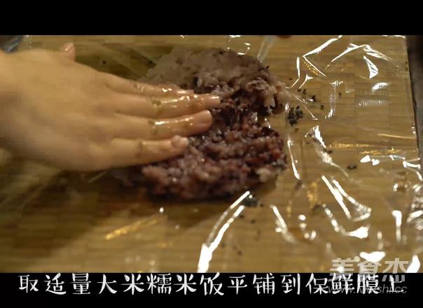紫糯粢饭团的做法大全
