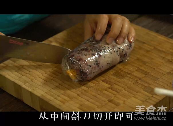 紫糯粢饭团的家常做法