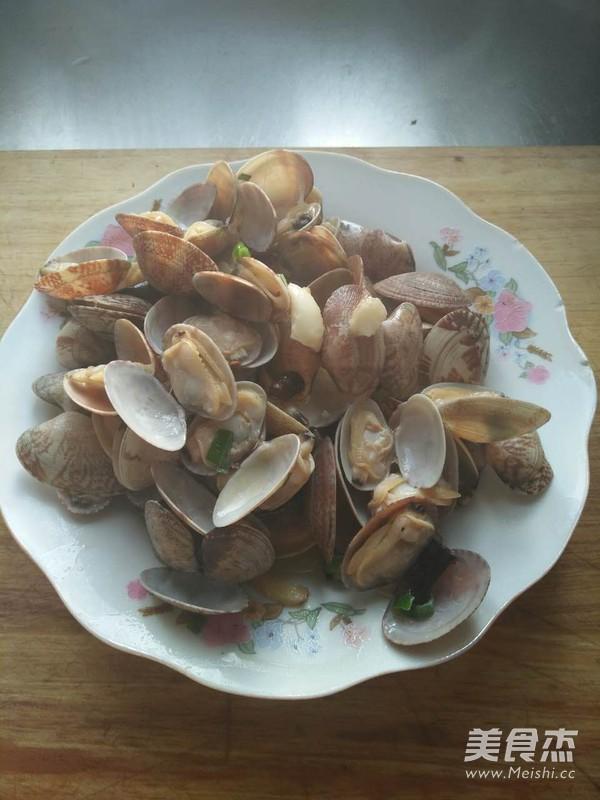辣炒蛤蜊怎么做