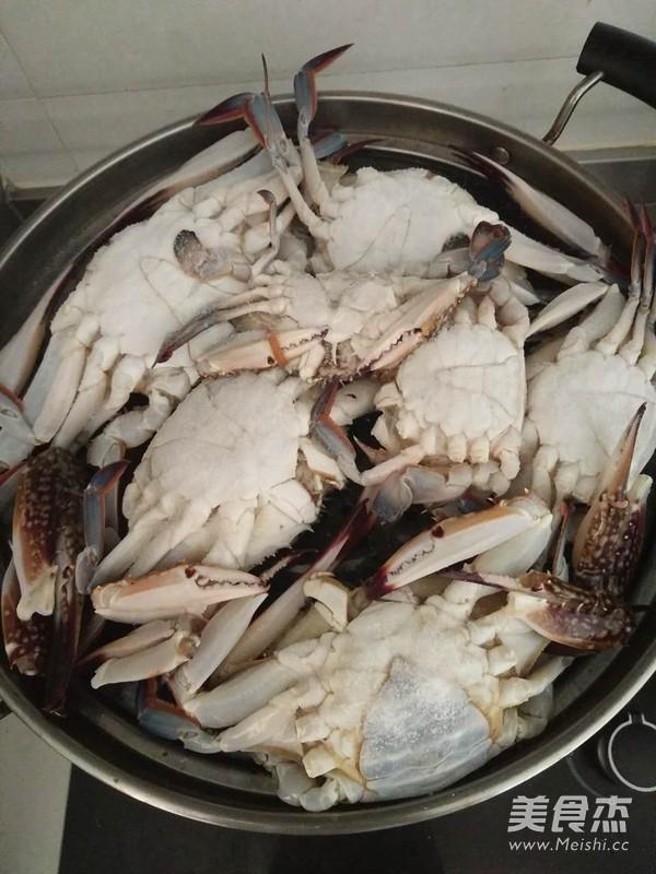 清蒸螃蟹的家常做法