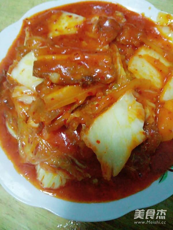 辣白菜炒五花肉怎么吃