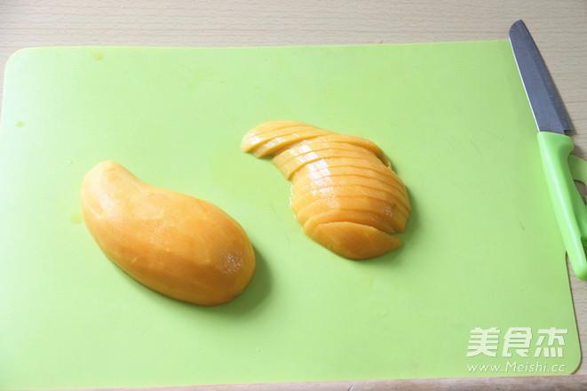 电饭锅版芒果糯米饭怎么煸