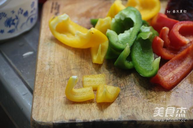 黑椒风味烤什蔬牛肉串的做法图解