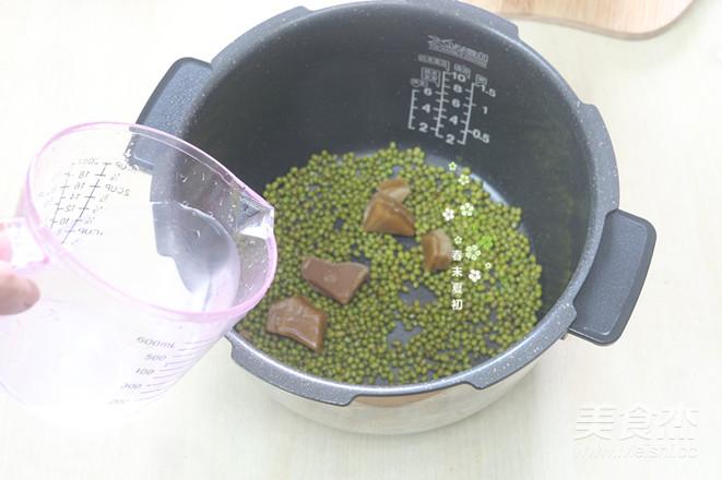 冰火牛奶芒果绿豆沙的家常做法