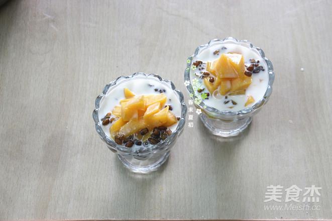 冰火牛奶芒果绿豆沙怎么煮