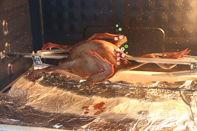 脆皮烤乳鸽的步骤