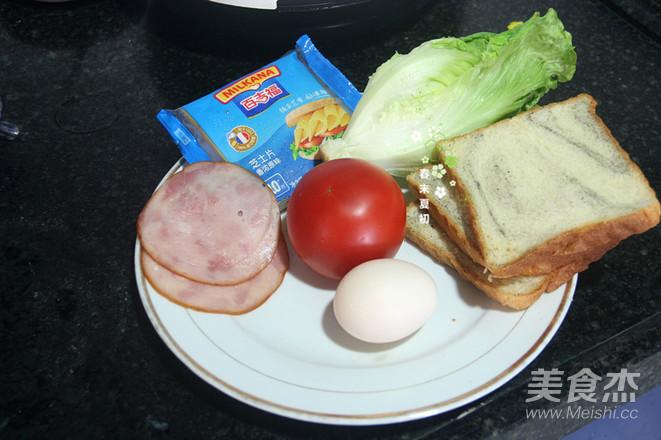 芝士黑芝麻三明治的做法大全