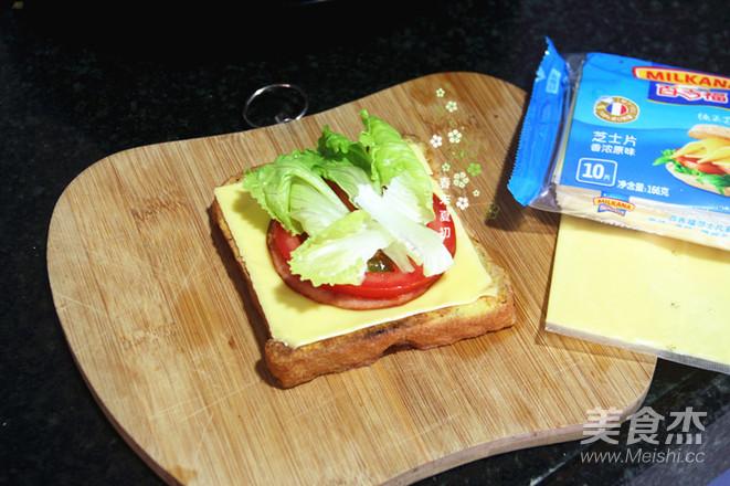 芝士黑芝麻三明治怎么煮