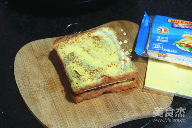 芝士黑芝麻三明治怎么炖