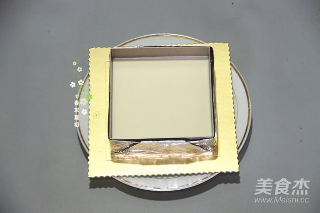 6寸方形酸奶咖啡慕斯的做法大全