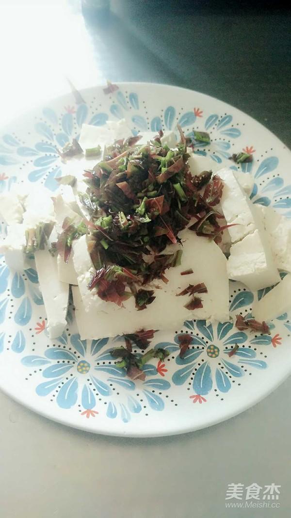 香椿拌豆腐的做法图解