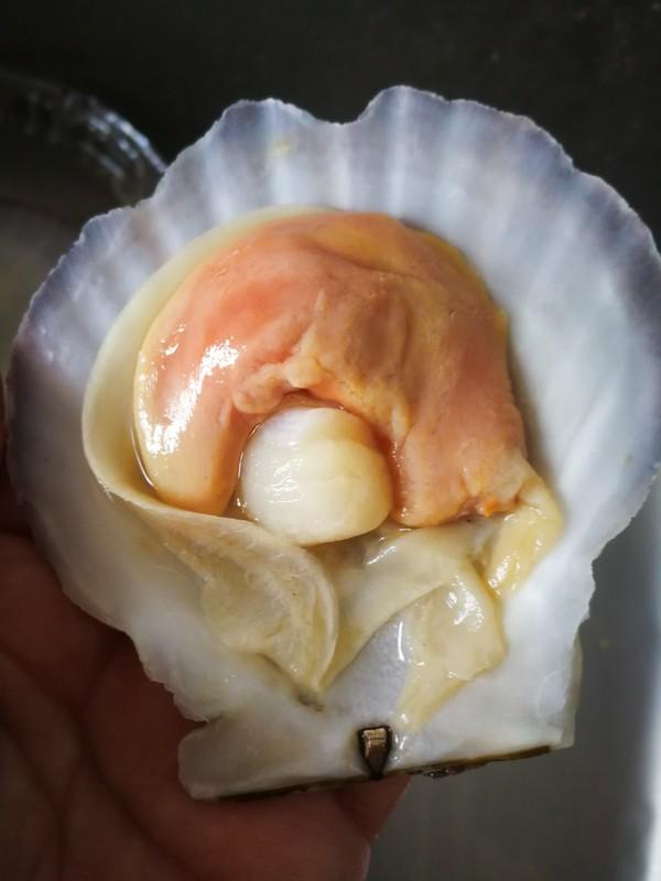 蒜蓉粉丝蒸扇贝的做法图解