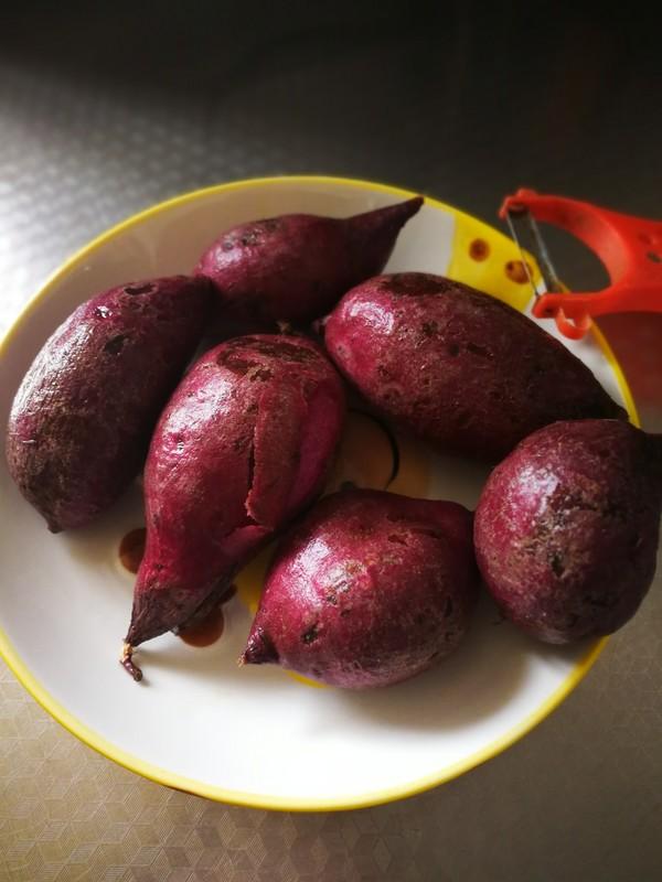 紫薯糯米饼的做法大全