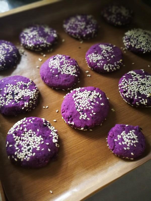 紫薯糯米饼怎样炒