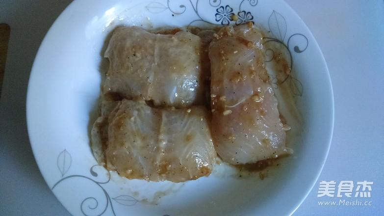 蒜汁龙利鱼的简单做法