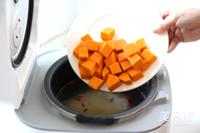 【南瓜小米粥】养胃必食的做法图解
