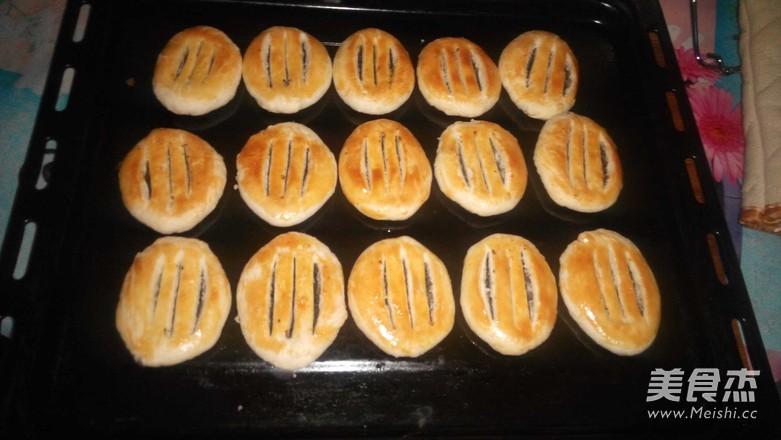 牛舌饼的制作