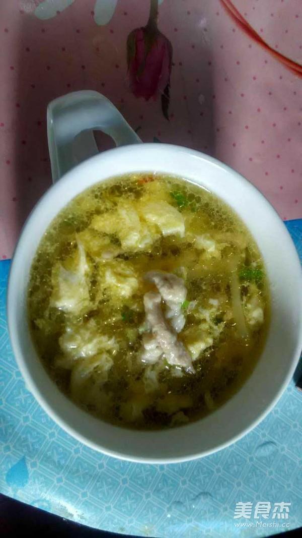 榨菜肉丝汤的简单做法