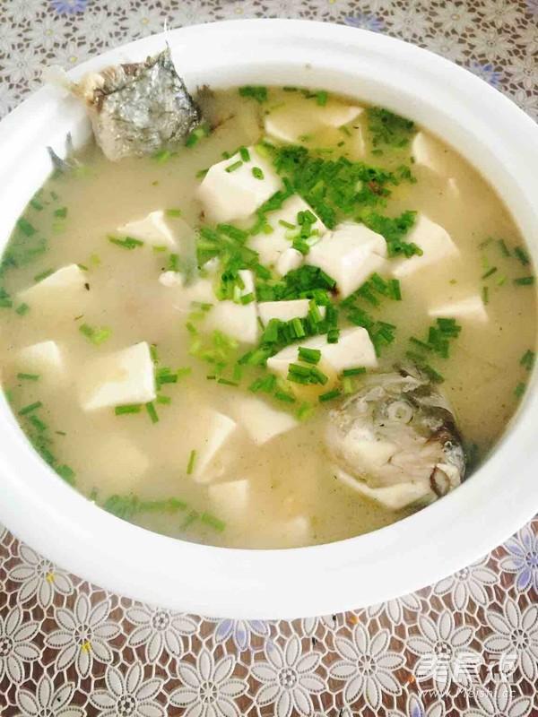 鲫鱼豆腐汤的做法图解