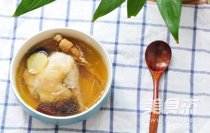人参炖鸡汤怎么吃