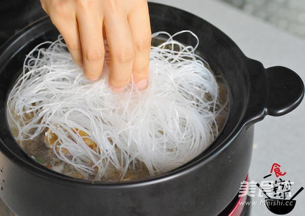砂锅花甲粉怎么做
