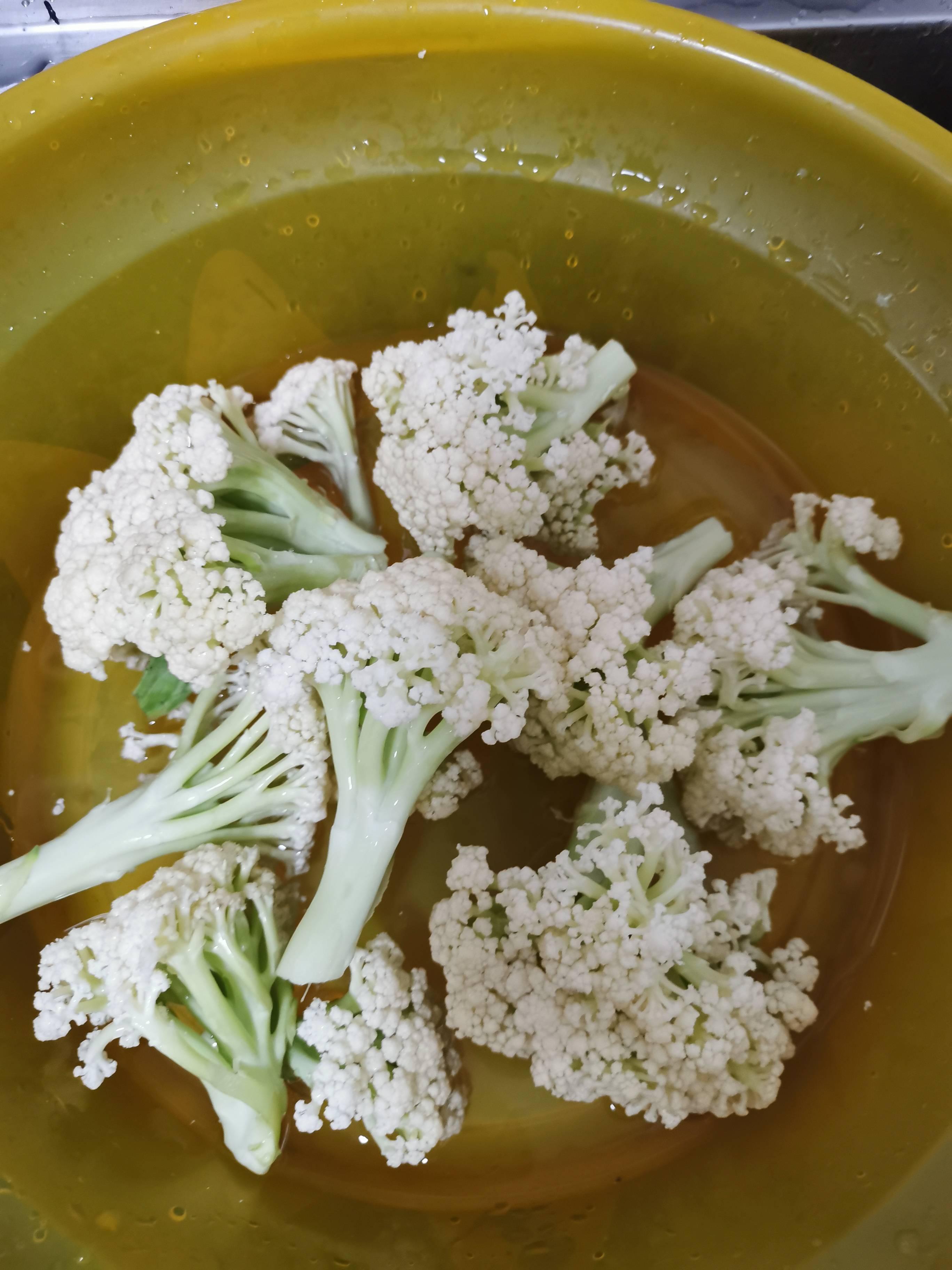 砂锅生焗菜花的做法大全