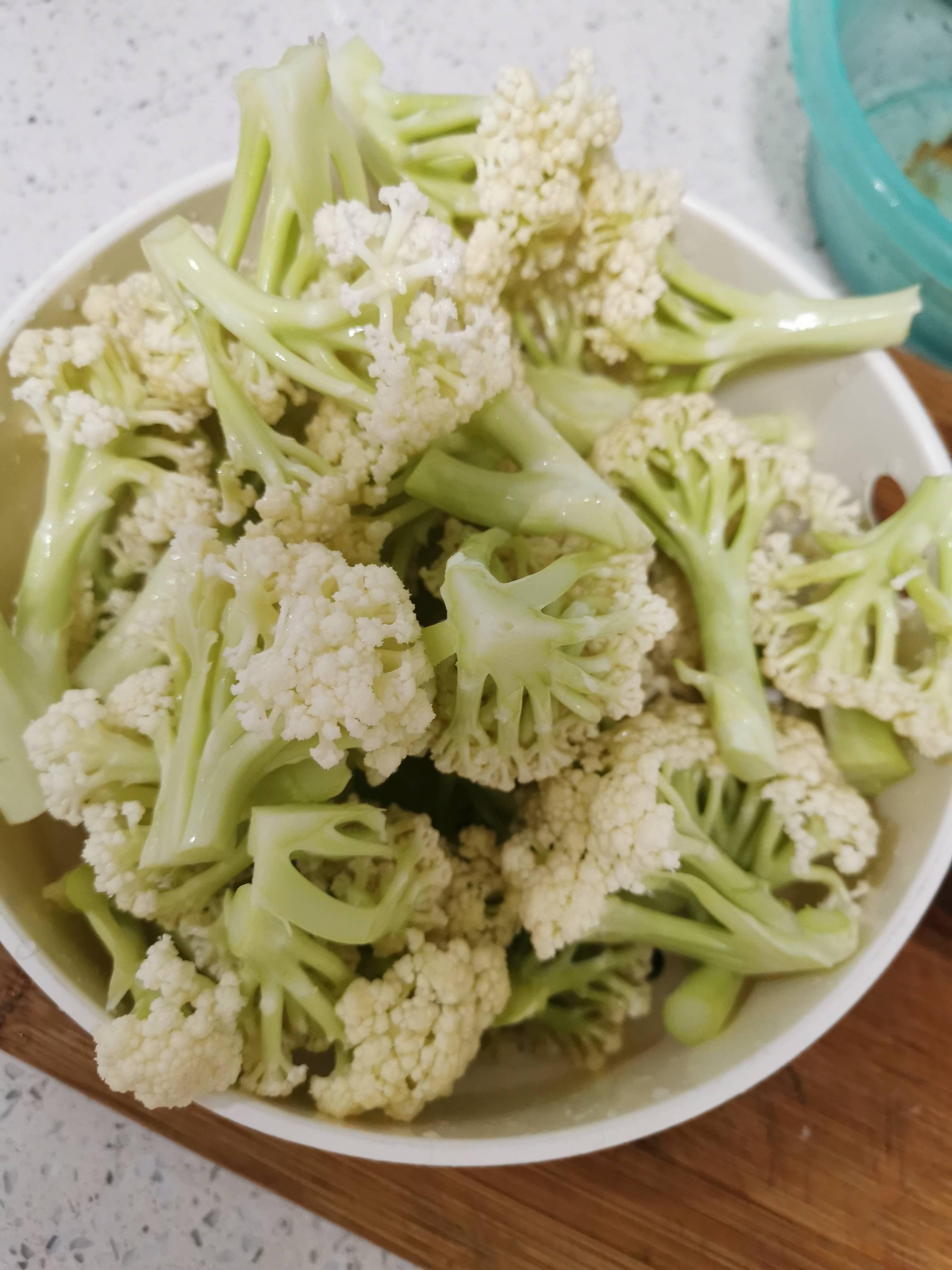 砂锅生焗菜花的做法图解