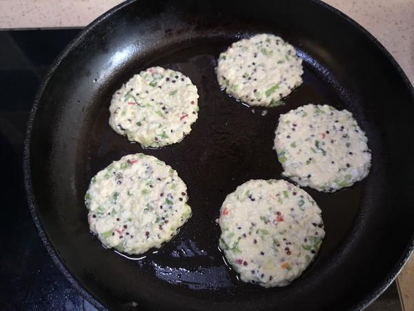 三色藜麦豆腐早餐饼的步骤