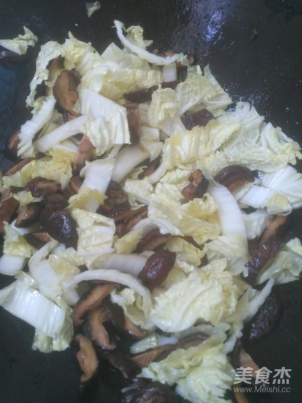 香菇烧白菜的简单做法
