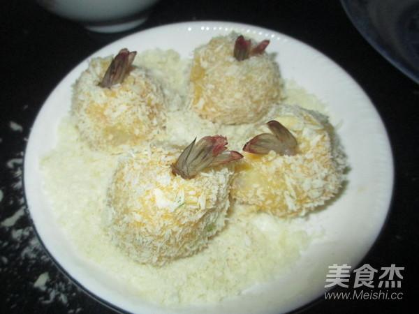 土豆泥虾球怎样做