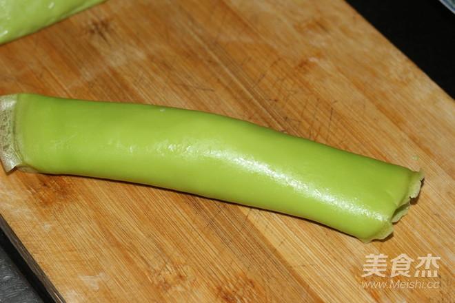菠菜汁豆芽卷饼怎样煮