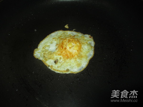 火腿片鸡蛋夹膜的步骤