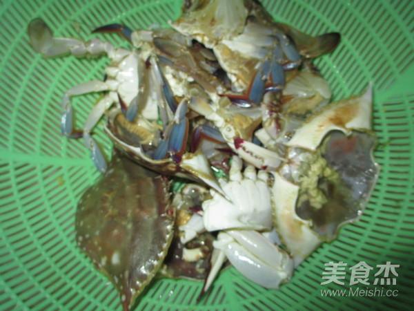 洋葱豆腐咖喱蟹的做法图解