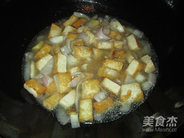 洋葱豆腐咖喱蟹怎么炖