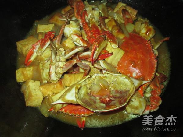 洋葱豆腐咖喱蟹怎样炒
